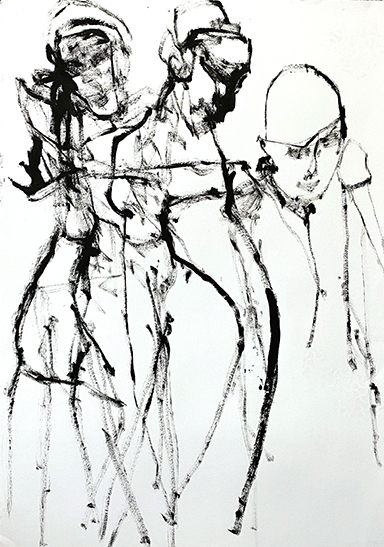 Ilana (Lifedrawing No. 7)